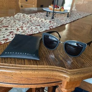 QUAY Black Sunglasses